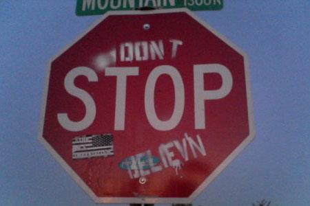 Don't Stop Believ'n