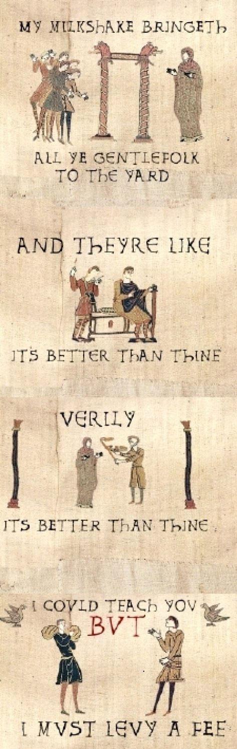 Medieval Milkshake