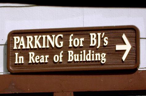 Parking For BJs