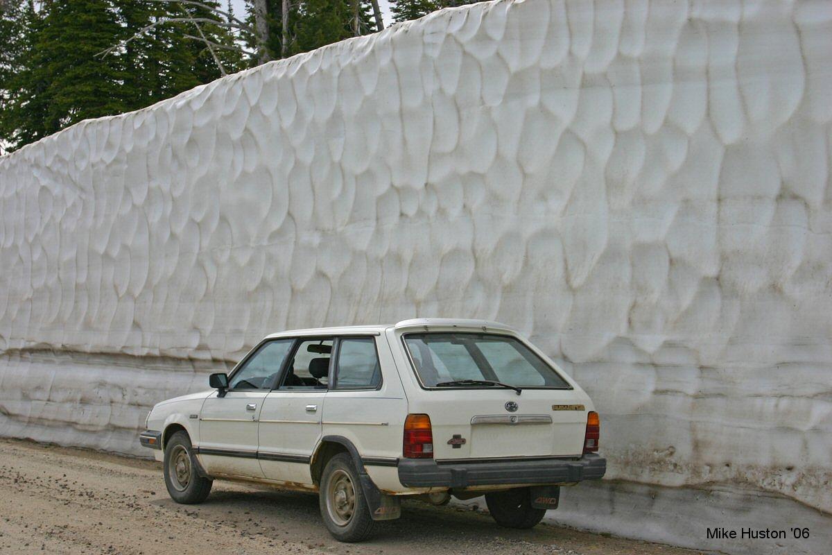Large Snowbank