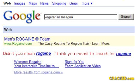 Didn\'t You Mean Rogaine?