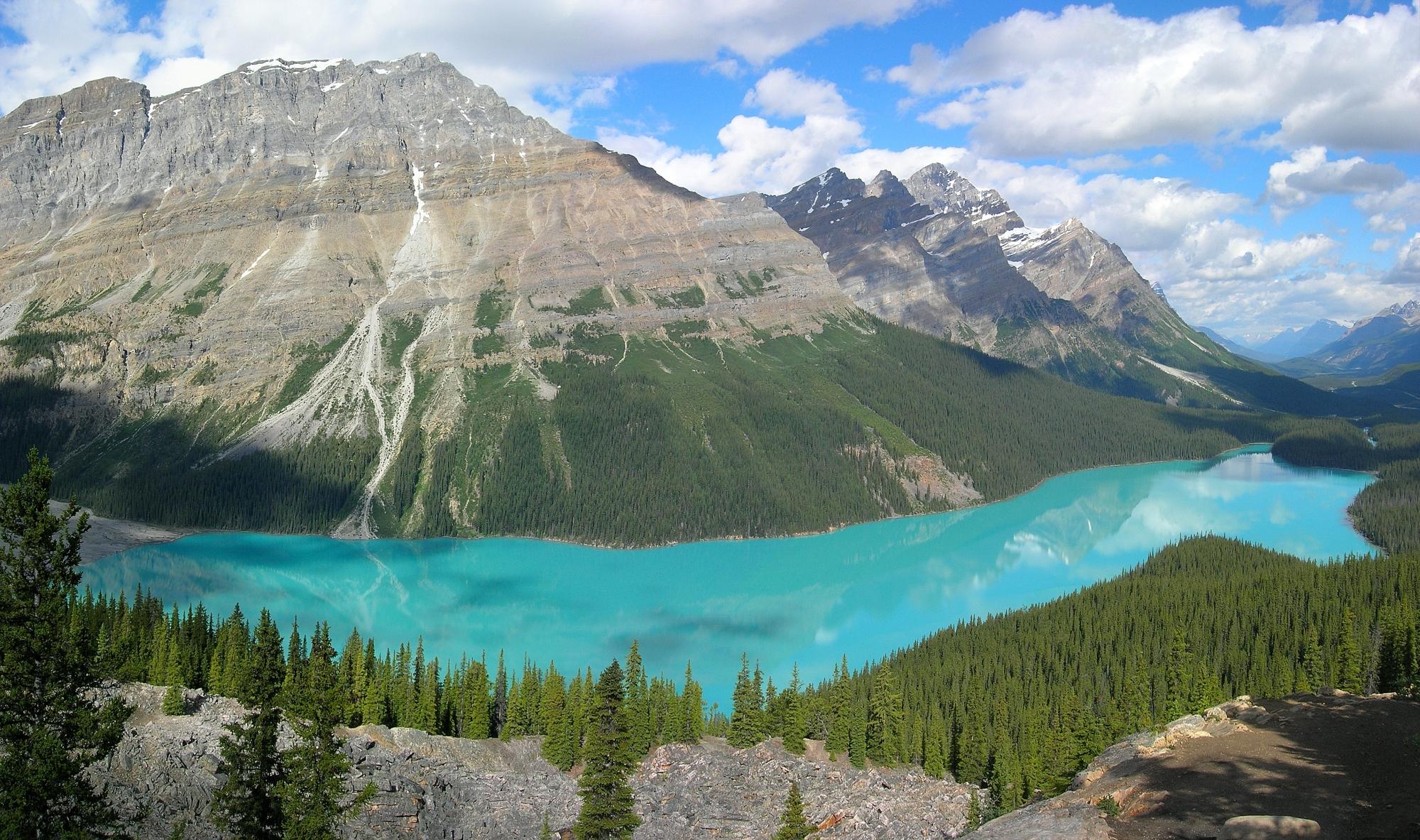 Peyto Lake Banff NP Canada