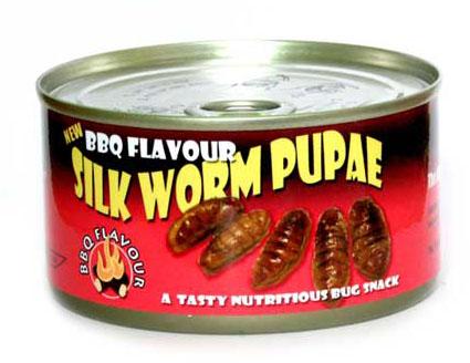 BBQ Silk Worm Pupae