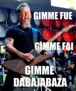GIMME DABAJABAZA
